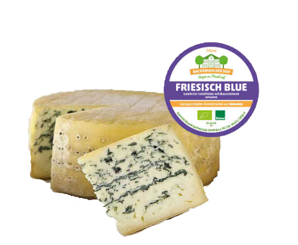 Friesisch Blue, Bio