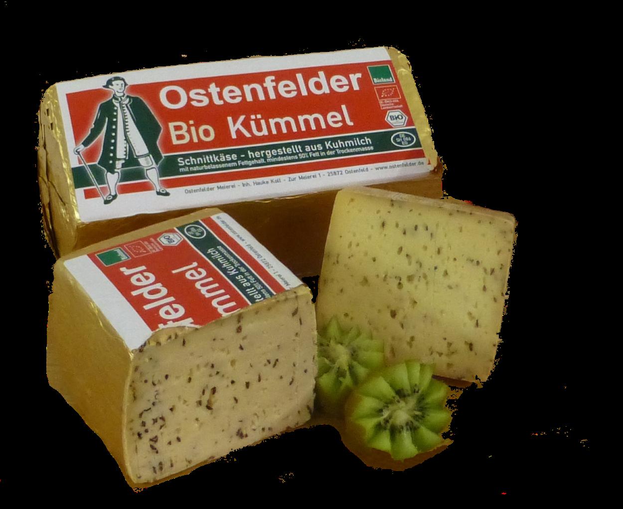 Ostenfelder Bio-Tilsiter mit Kümmel