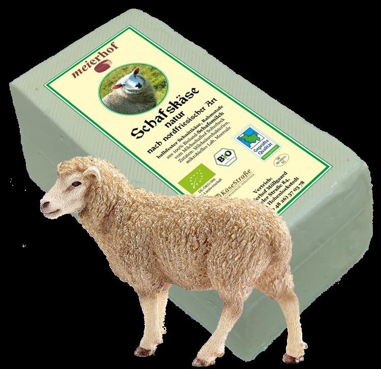 Schafskäse natur nach nordfriesischer Art