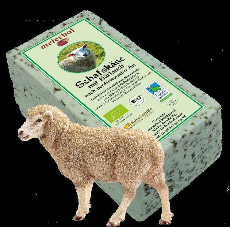 Schafskäse mit Bärlauch